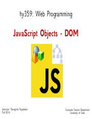04-JavaScript-Objects-DOM