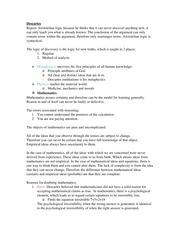 Huma 1160 Lecture 4 notes