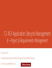 08_Project_and_Requirements_Management_-Spring_2016