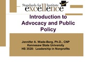 HS 3520- More about Advocacy