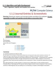 Copy of 1.1.2 Journal Entries & Screenshots