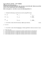 M271 Test1A FA12 solutions(1)