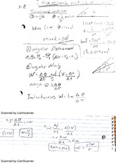 rotational motion of a rigid object notes