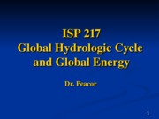 Global Hyrdological Cycle