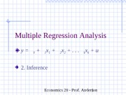 ch04Multiple Regression Analysis