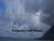 Introduction Perspective Theory 2.1