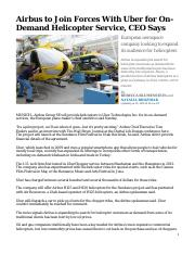 L3 M300 WSJ - Airbus to Join Forces With Uber.pdf