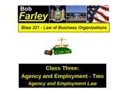 LAW 321 Class 3 Lecture Notes