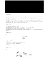 Exam 12 solutions
