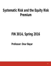 Systematic Risk and Equity Risk Premium 12 new(3).pptx