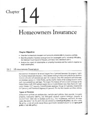 Chap 14-Homeowners Insurance