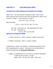 Chapter 15 Acids and Bases Week 1-1 (09)