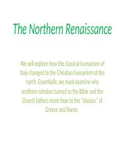 The Northern Renaissance