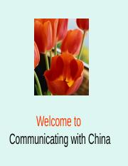 W1 W2 Communication and Chinese identity - Copy.ppt