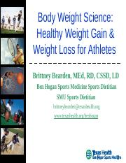 Body Weight Science.ppt