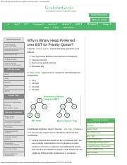 Convert BST to Min Heap - GeeksforGeeks pdf - Convert BST to