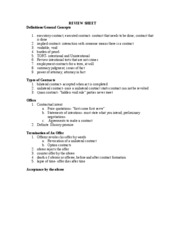 """business law review sheet Finding the right corporate legal strategy  harvard business review press,  """"law, strategy, and competitive advantage,"""" connecticut law review 44, no."""