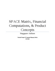 Financial ratios & computations