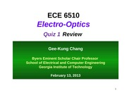 13. Quiz 1 Review 0213 2013