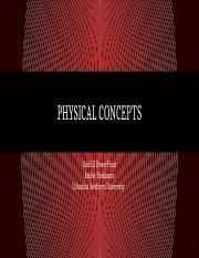 Physical Concepts .pptx