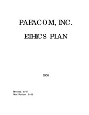 Ethics Plan-MV 2-6-08