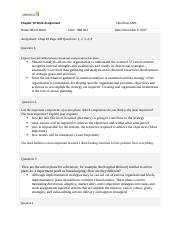 R Ward HSA 403 Assignment 10 .docx