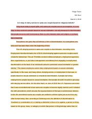 Paige Traun - Classical Oration Practice Essay