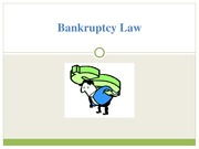 Bankruptcy Law Notes