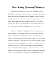 introduction paragraph holocaust more than others in my  3 pages short essay journey or odyssey