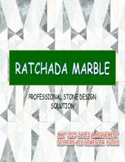 Final Project - Ratchada Marble