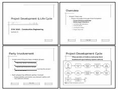 CIVL_3410_LEC_04_Project_Development_and_Life_Cycle-I_NOTES-HANDOUTS [Compatibility Mode]