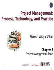 Lecture 3 - Project Management Tools