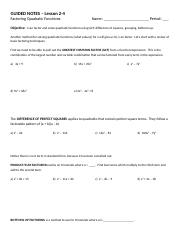 2-4 - Solve by Factoring - Guided Notes_1.docx