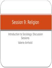 Session 9 Religion (1)
