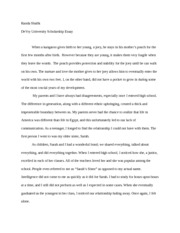 ChallengingObstacle essay