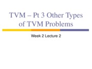 1.5 Week 2 Lect 2 TVM - Part 3 Other types of TVM