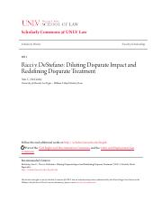 Ricci v. DeStefano_ Diluting Disparate Impact and Redefining Disp.pdf
