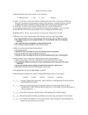 Answers to Miniature Practice Exam I