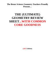 2015 Ultimate Geometry Review Sheet.1432762796