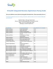 VirtualSC Integrated Business Applications Pacing Guide.docx