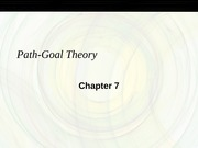 Chapter 7 Path Goal_S