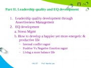 16. Part 2 --EQ develop