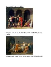 French Neoclassical Art 2
