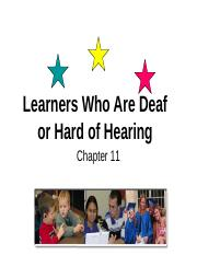 Chapter 11 Deafness.ppt