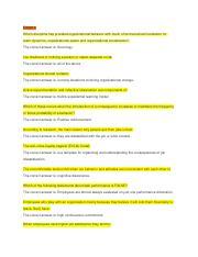 Organizational behavior Quiz?