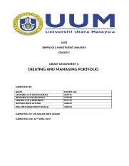 Complete Assignment Investment analysis.docx