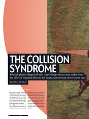 Collision Syndrome