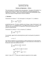 Calculus_and_Optimization_StudyGuide