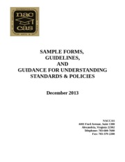 Sample Forms and Guidelines