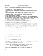 Past Homework 1 Questions and Solutions